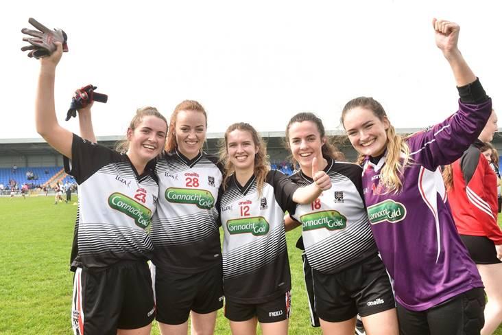1d0b38cee00c65 Ladies  Sligo seal place in Division 3 final