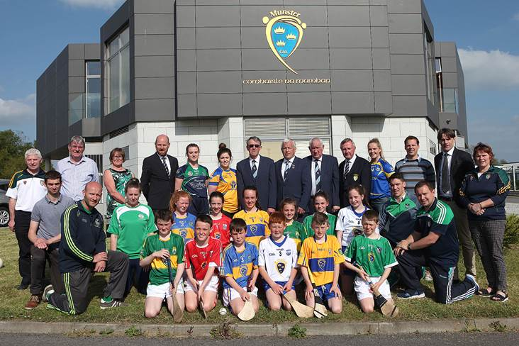 launch of the munster gaa primary game 2017 hoganstand