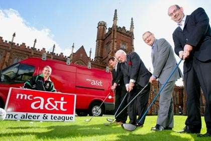 James McCartan launches Queen's GAA Golf Classic - HoganStand